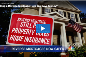 NBC Nightly News: Reverse Mortgage is Smart Money