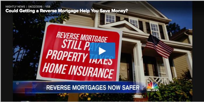 NBC Nightly News: Reverse Mortgage is Smart Money ...