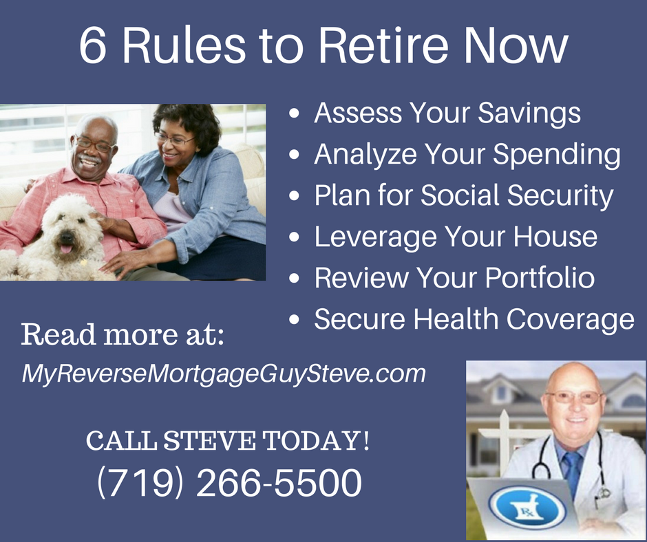 6 Rules to Retire Now