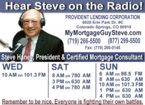 The Mortgage Doctor Radio Show times